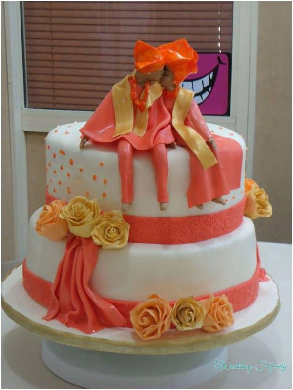 Unique Traditional Wedding Cakes For Your Nigerian