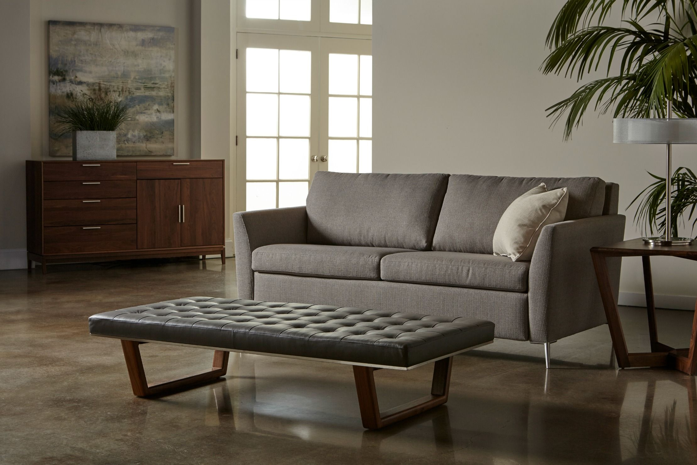 noah comfort sleeper sofa by american leather is available in a range of leathers u0026