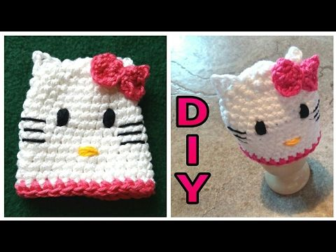 Hello Kitty Eierwärmer Häkeln Diy Julebuergerfee Youtube