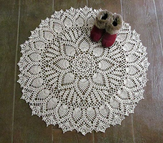 You Are Ing The Wonderful Doily Rug Pictured I Modernized An Antique Pattern To