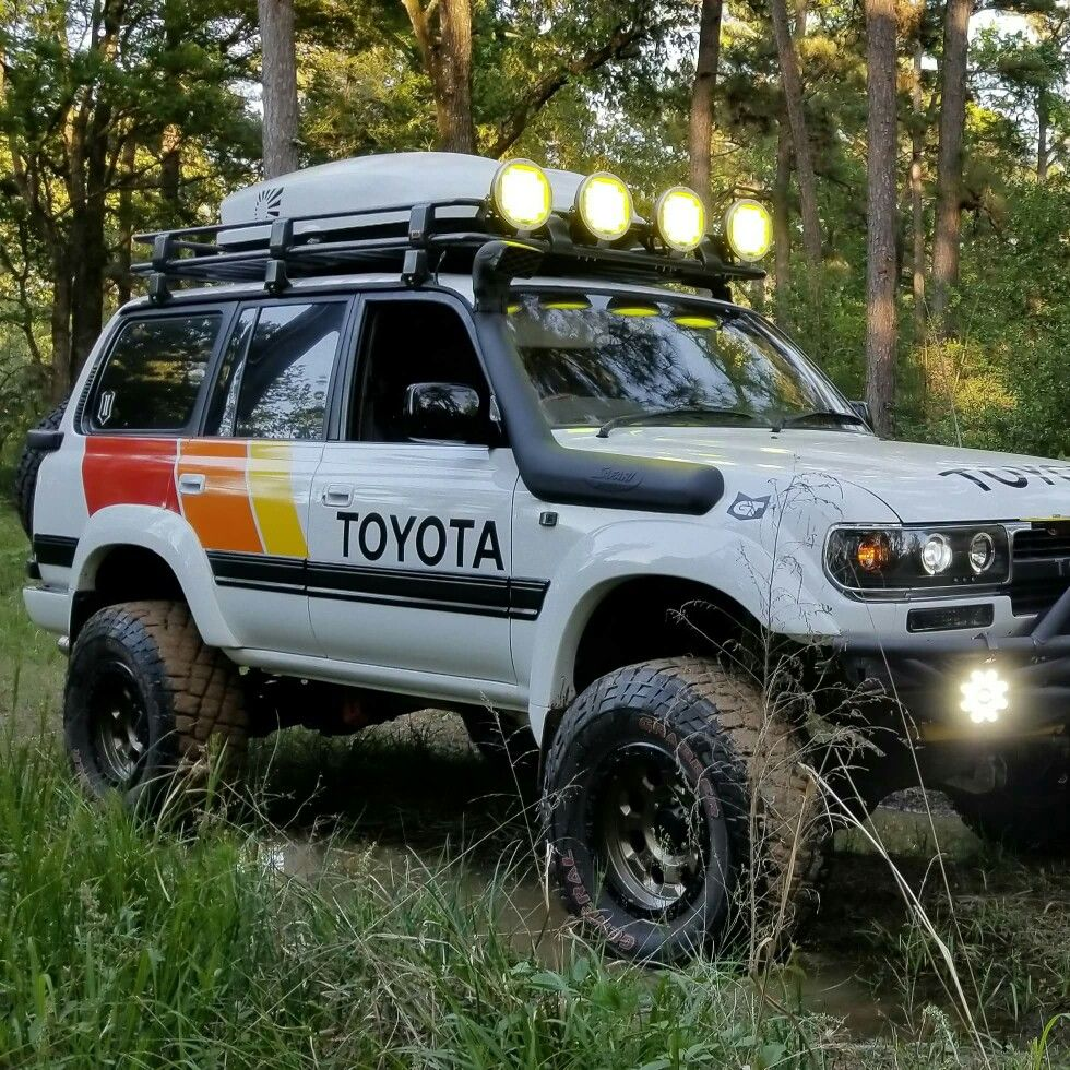 Fj80 In Yota Colors Toyota Land Cruiser 100 Land Cruiser Toyota Trucks