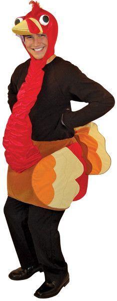 Men's Thanksgiving Costume: Turkey-One Size