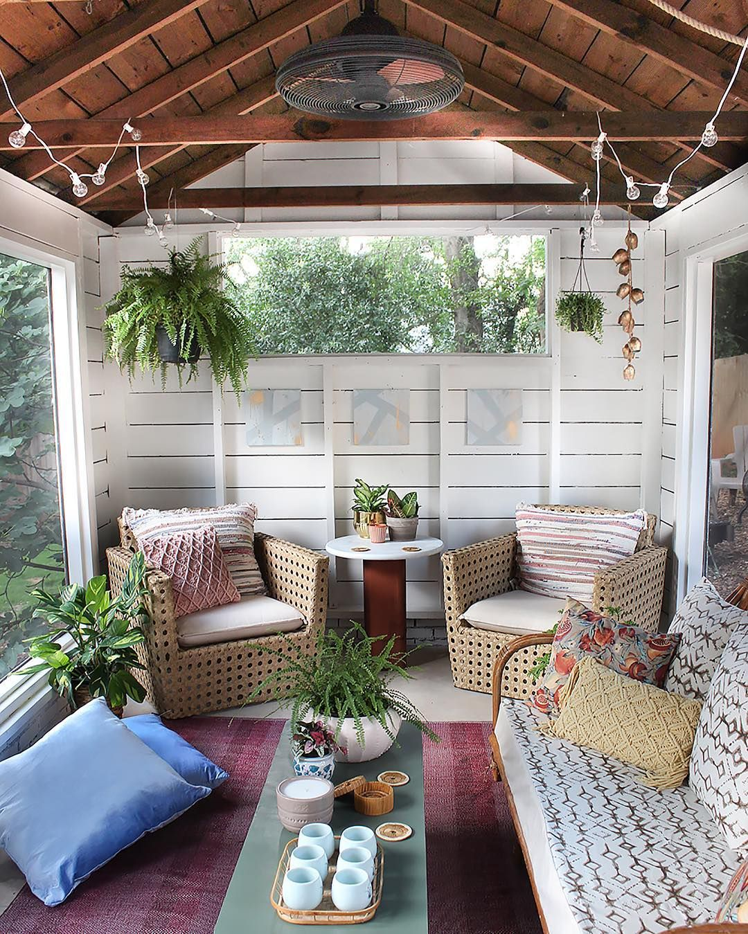 Screen Porch Ideas Designs: See This Instagram Photo By @thewhitebuffalostylingco