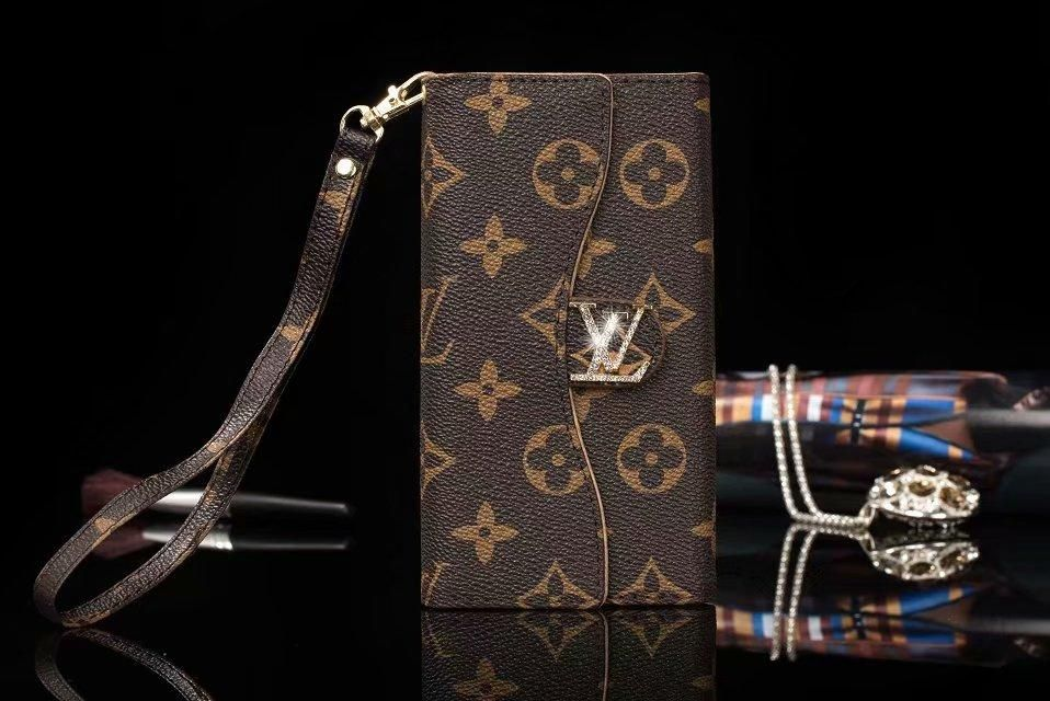 Louis Vuitton Leather Three Folding Wallet Case Iphone Xr Xs Xs Max Besunny Iphone Wallet Case Iphone Cases Iphone