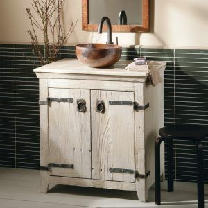 Whitewash Bathroom Cabinets