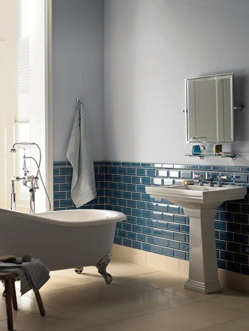 {Fired Earth Tiles} Actual Colour In The Bathroom. Who Knew?