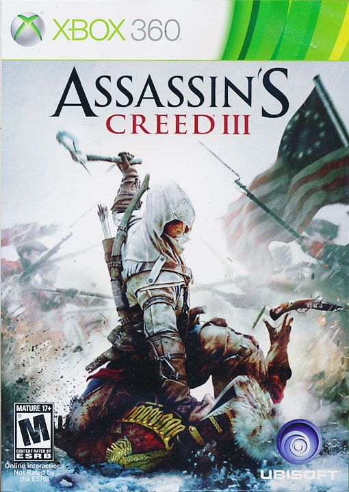 Assassin S Creed Iii Xbox 360 Game Assassins Creed Assassins
