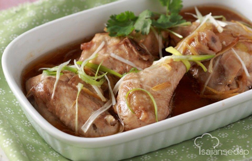 Rasakan Kenikmatan Ayam Kukus Jahe Yang Bumbunya Meresap Sampai Ke Tulang Ayam Yang Lezat Dan Kuah Jahe Yang Segar Pas Memasak Resep Masakan Indonesia Makanan