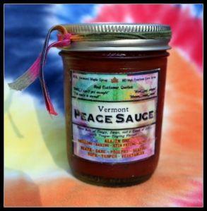 Vermont Peace Sauce