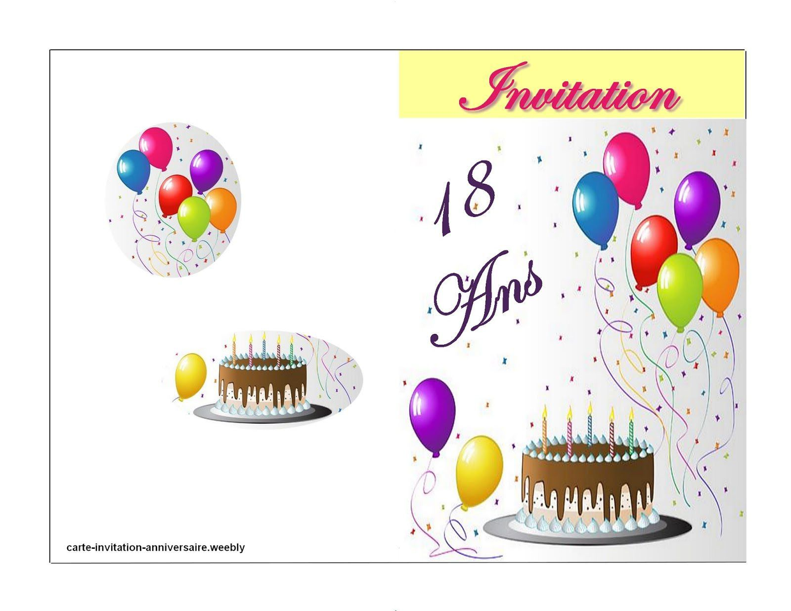 Invitation D Anniversaire Virtuelle Gratuite Beautiful Carte Anniversaire 18 Ans Gratuit Carte Invitation Anniversaire Invitation Anniversaire Carte Invitation