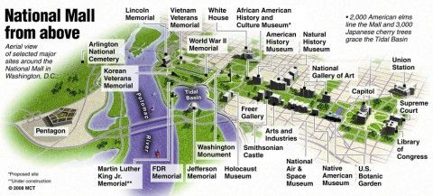 National Monument D.C | D.C. Area | Washington dc map, National mall on map of dc buildings, map of washington monuments museums, map of dc landmarks, map of washington dc attractions, map of washington memorials,