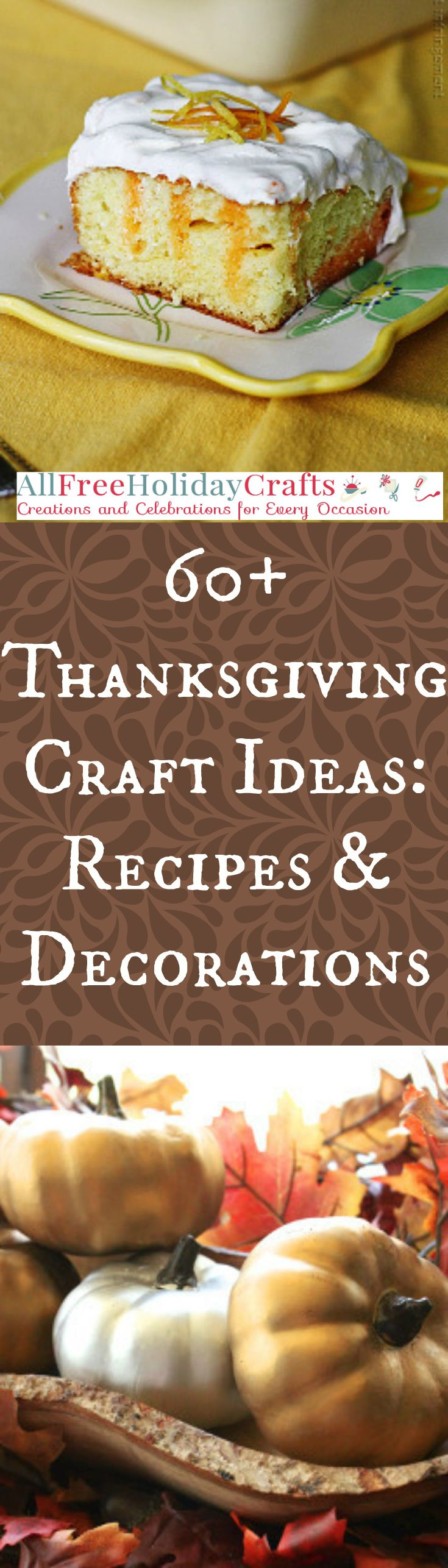 You can plan your entire day with our collection of Thanksgiving Craft Ideas: 60+ Thanksgiving Recipes and Thanksgiving Decoration Ideas. You will find the perfect easy Thanksgiving crafts that will make your holiday a lot easier.