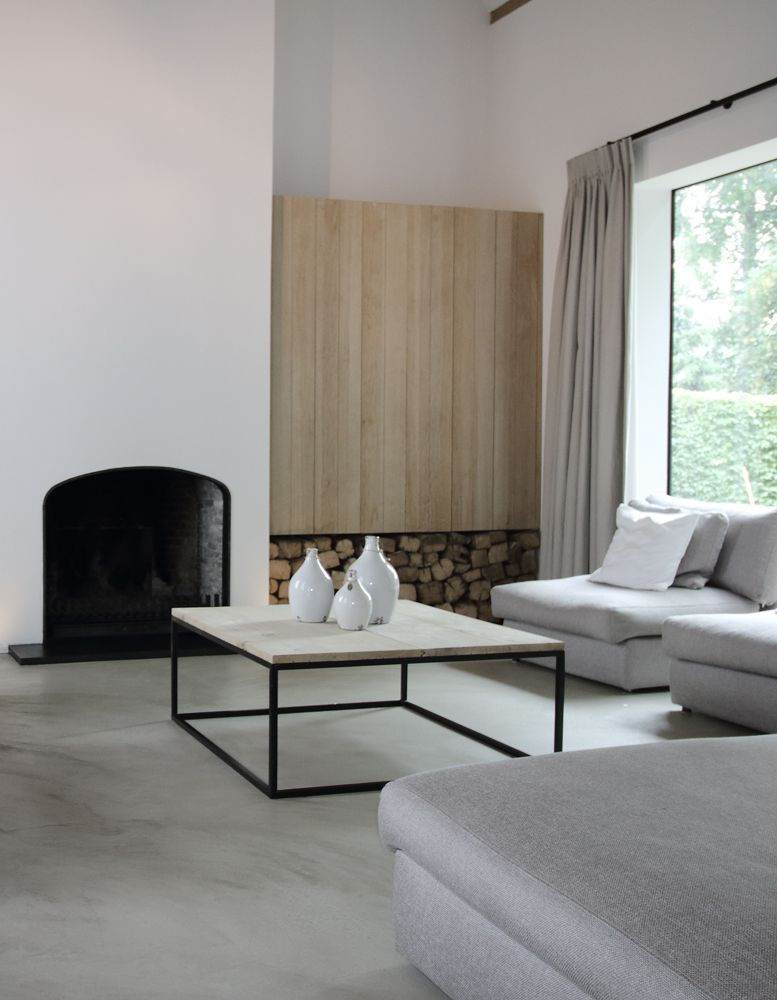 Pin de gaby villarreal henric en chimemeas pinterest pisos de cemento buro y cemento - Interiores de pisos ...