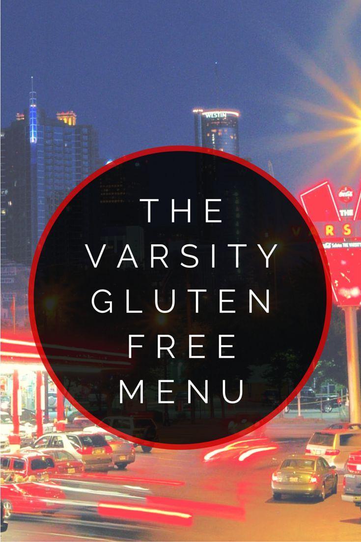 The varsity gluten free menu gluten free menu gluten