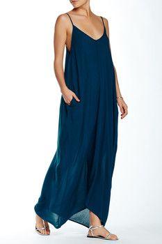 149f266f93e2 Love Stitch Gauze Maxi Dress