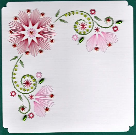 Ed pattern for sale paper embroidery pinterest