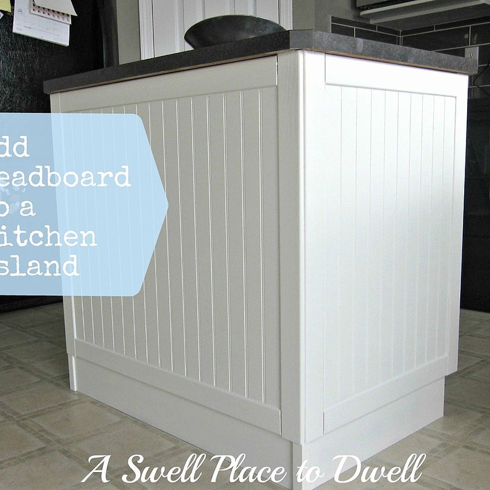Adding Beadboard to a Kitchen Island Beadboard kitchen