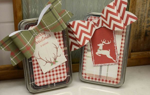Laurel ~ Altered tins ~ #decemberchallenge