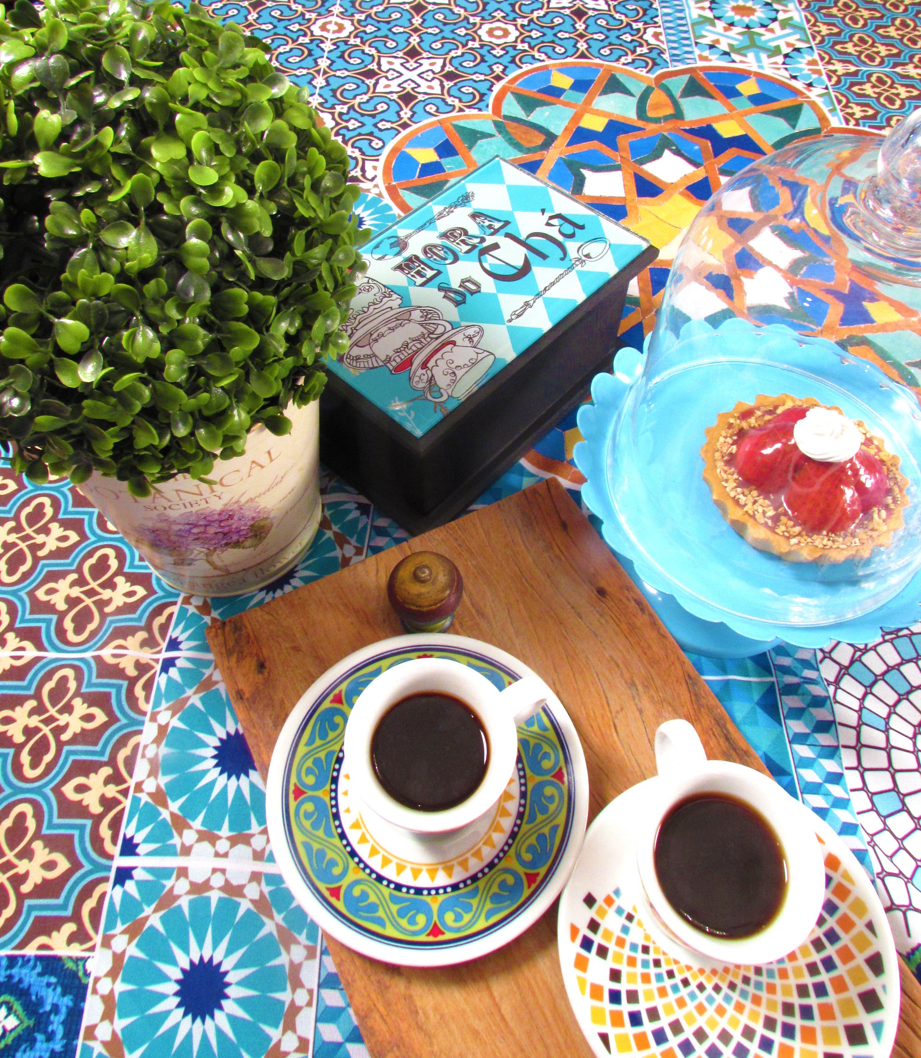 Hora do café! Hora do chá! Hora de @saocasa . Produtos exclusivos para transformar os momentos.