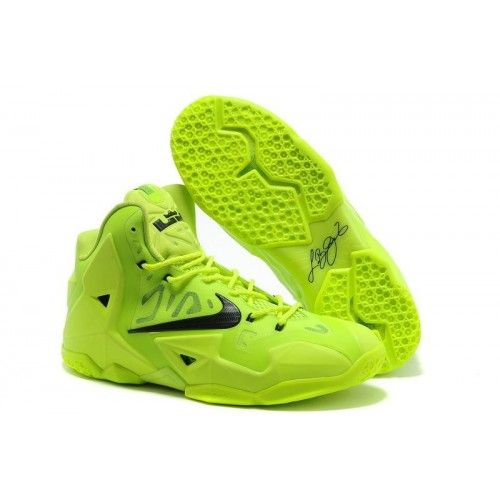 Nike Lebron James Fluorescence 11 P.S For Green Black Womens Shoes In Many Styles