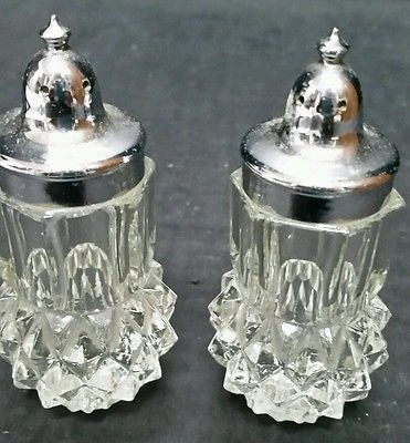 salt and pepper shaker cabinet collectible decorative salt pepper shakers ebay vintage clear glass kitchen trendy treasures