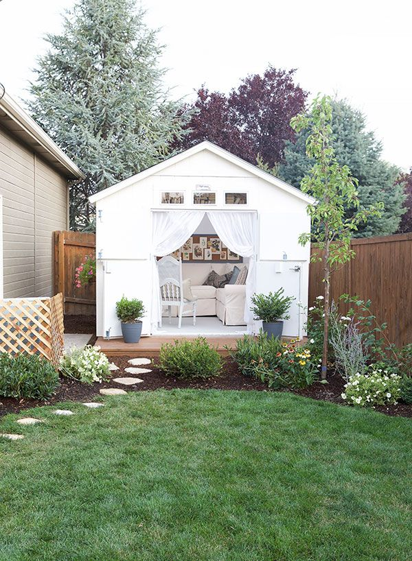 a cozy cottage she shed - Garden Sheds At Home Depot
