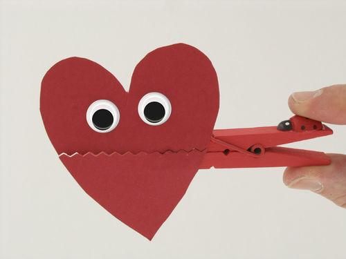 Pince à linge Coeur – Fête des Mères