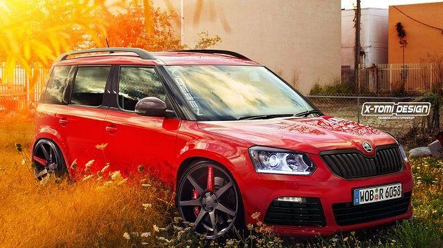 Skoda Yeti Tuned Render By Xtomi Desing Future Car Auto News