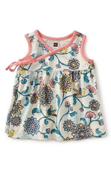 4b8a3b7ad8a0 Tea Collection  Birds Landing  Sleeveless Wrap Tunic (Baby Girls ...