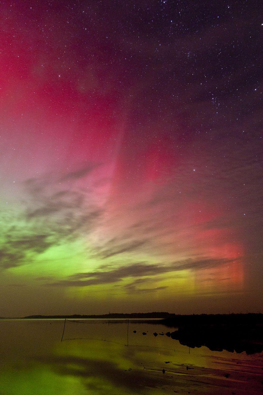 Aurora Borealis in Latvia.