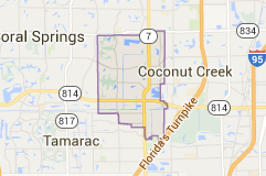 Map of margate fl | Broward County City Maps