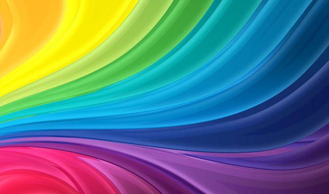 Dormify Blog Rainbow Abstract Abstract Rainbow Wallpaper
