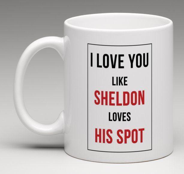 The Big Bang Theory Spock TV Sitcom Geek Cup Tea Coffee Mug Mugs