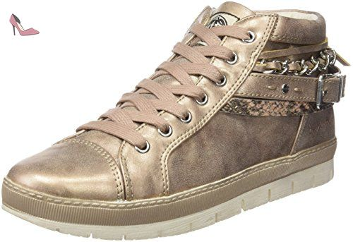 Dockers by Gerli 35Ne217-686550, Sneakers Basses Femme, Argent (Silber 550), 42 EU