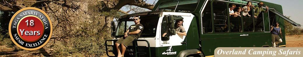 Come on a Camping African Safari, You will love it