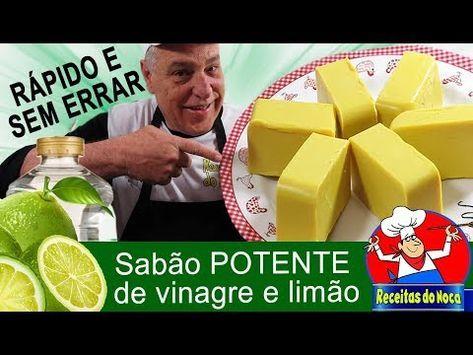 109 Sabão Caseiro Potente De Vinagre E Limão Youtube Limpeza