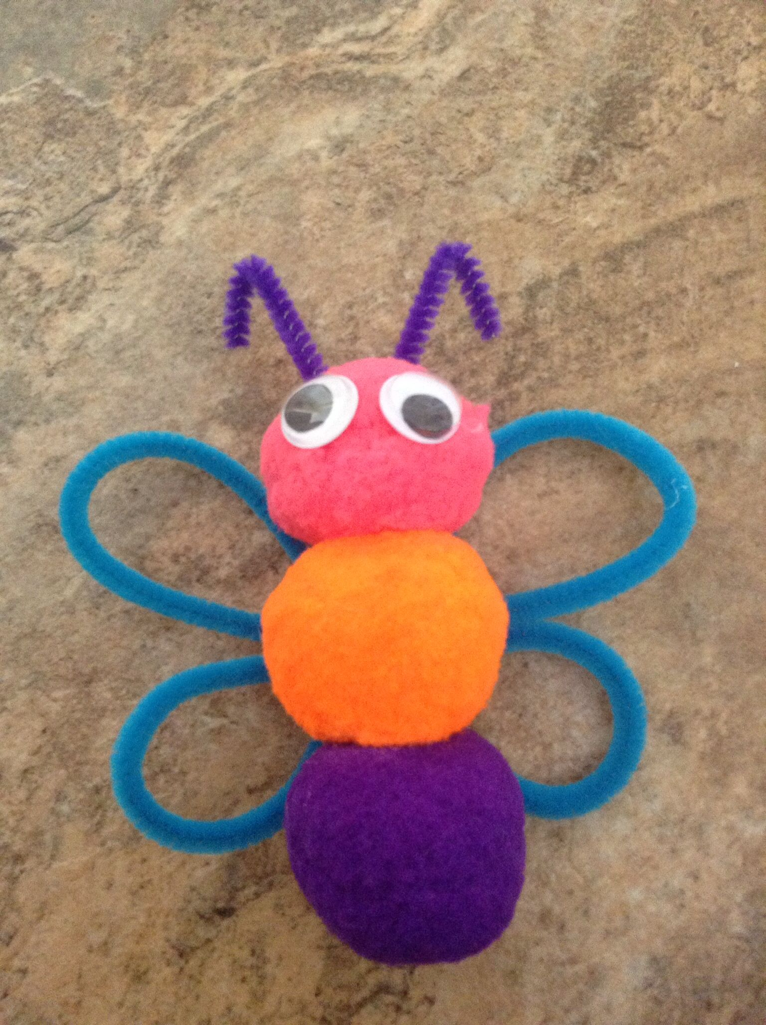 Easy Crafts With Pipe Cleaners And Pom Poms