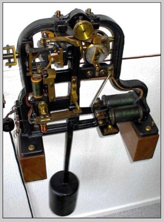 Gents C40a Pulsynetic Waiting Train Electric Turret Clock Mechanism