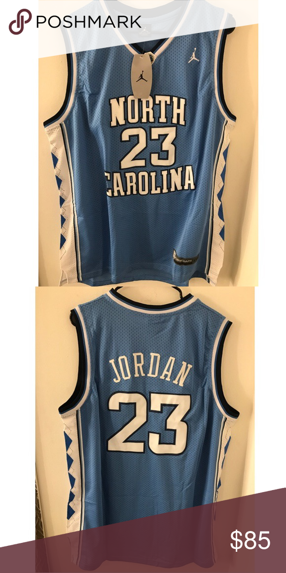 new concept 795e2 fac7e Michael Jordan college jersey throwback Awesome North ...