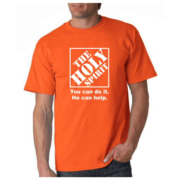 9cbed5cbf Home Depot Christian T-Shirt Men's | Christian T Shirts | T shirt ...
