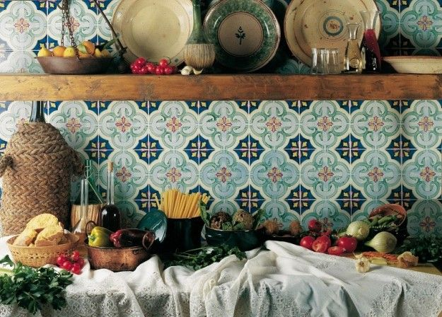 Ceramiche di vietri in tutto per la casa kitchen tiles