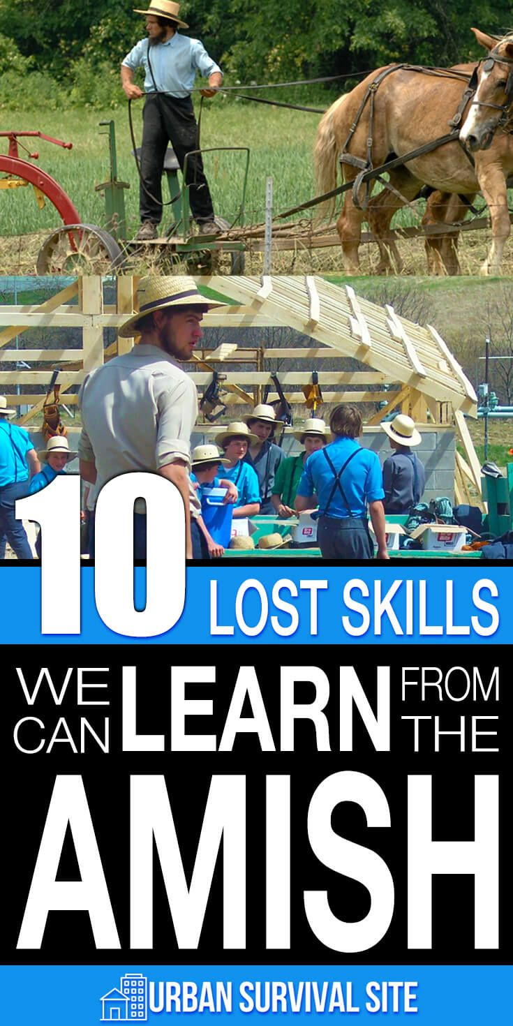 10 Lost Skills We Can Learn From The Amish   SHTF, Bushcraft and ...