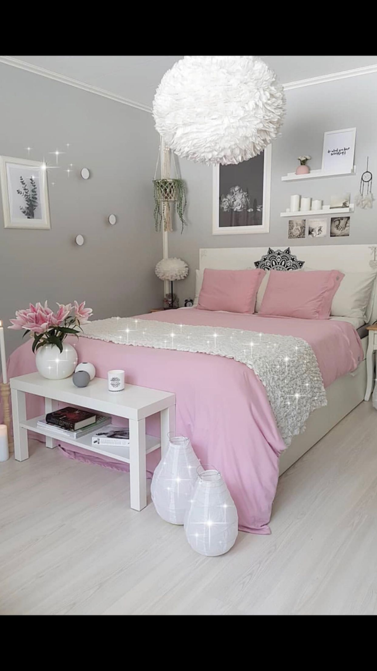 A Little Princess Sleeps Here Chambre A Coucher Rose Deco