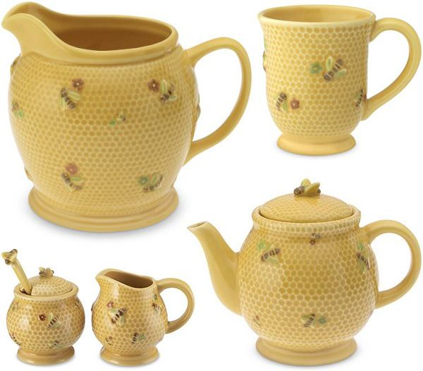 Honey Bee Tableware And Tablecloth By Williams Sonoma