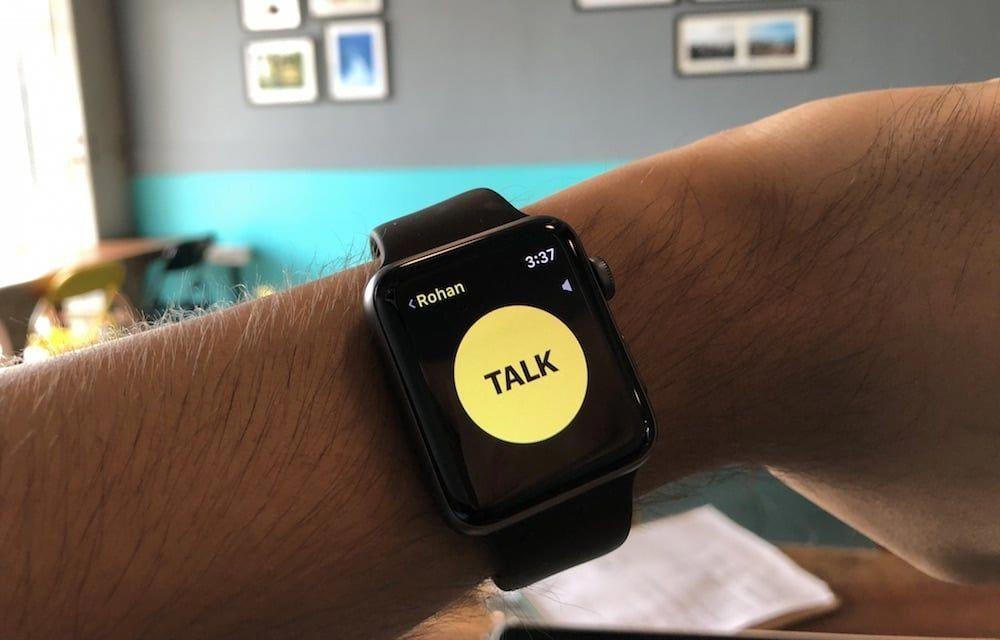 How to Turn Apple Watch Into a WalkieTalkie
