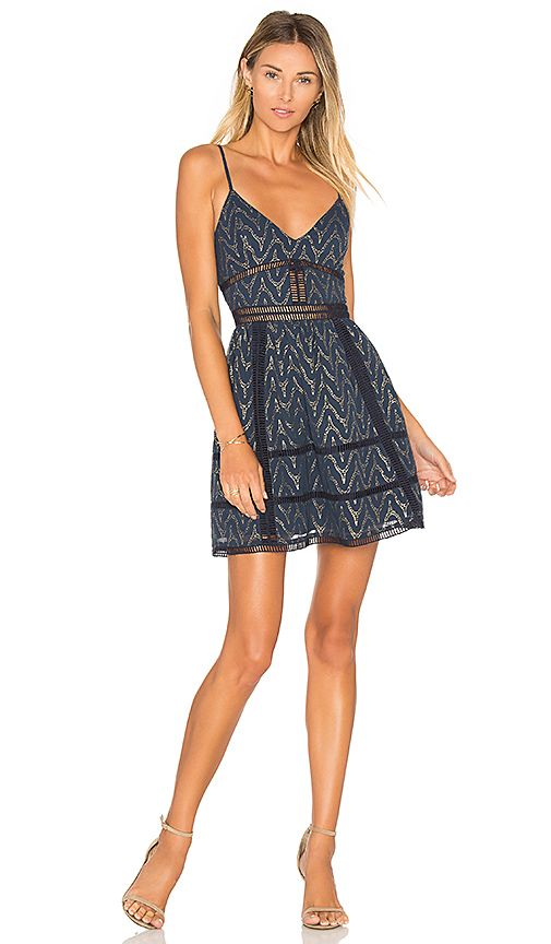 f546f562018 NBD Miley Mini Dress in Navy