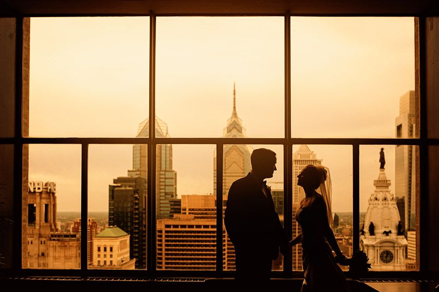 Loews Hotel Philadelphia Is A Premier Wedding Venue Perfect For Young S Special Day We Were Able To Sneak Away The Roof An Iconic