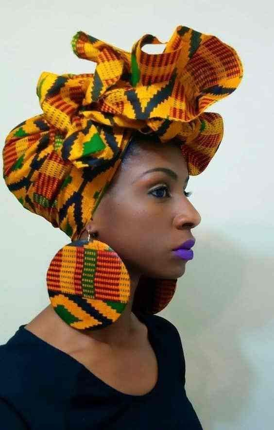 Kente headwrap african fashion ankara kitenge african women kaftan ccuart Gallery