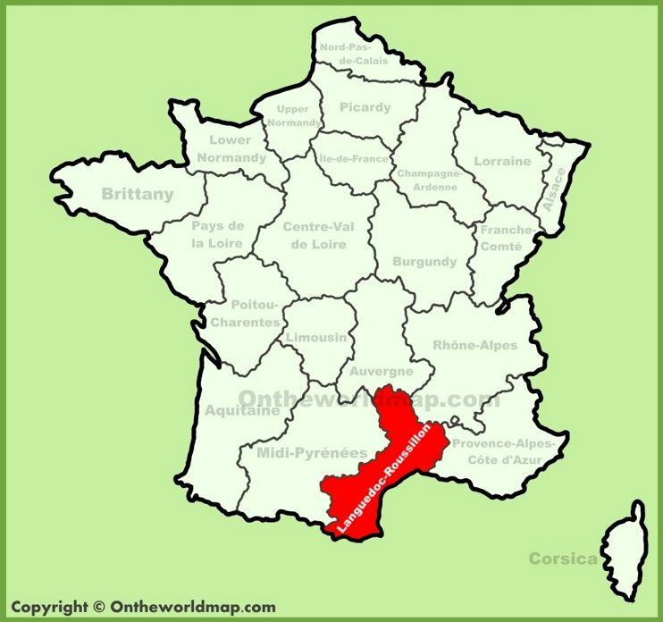 Bildresultat för roussillon map