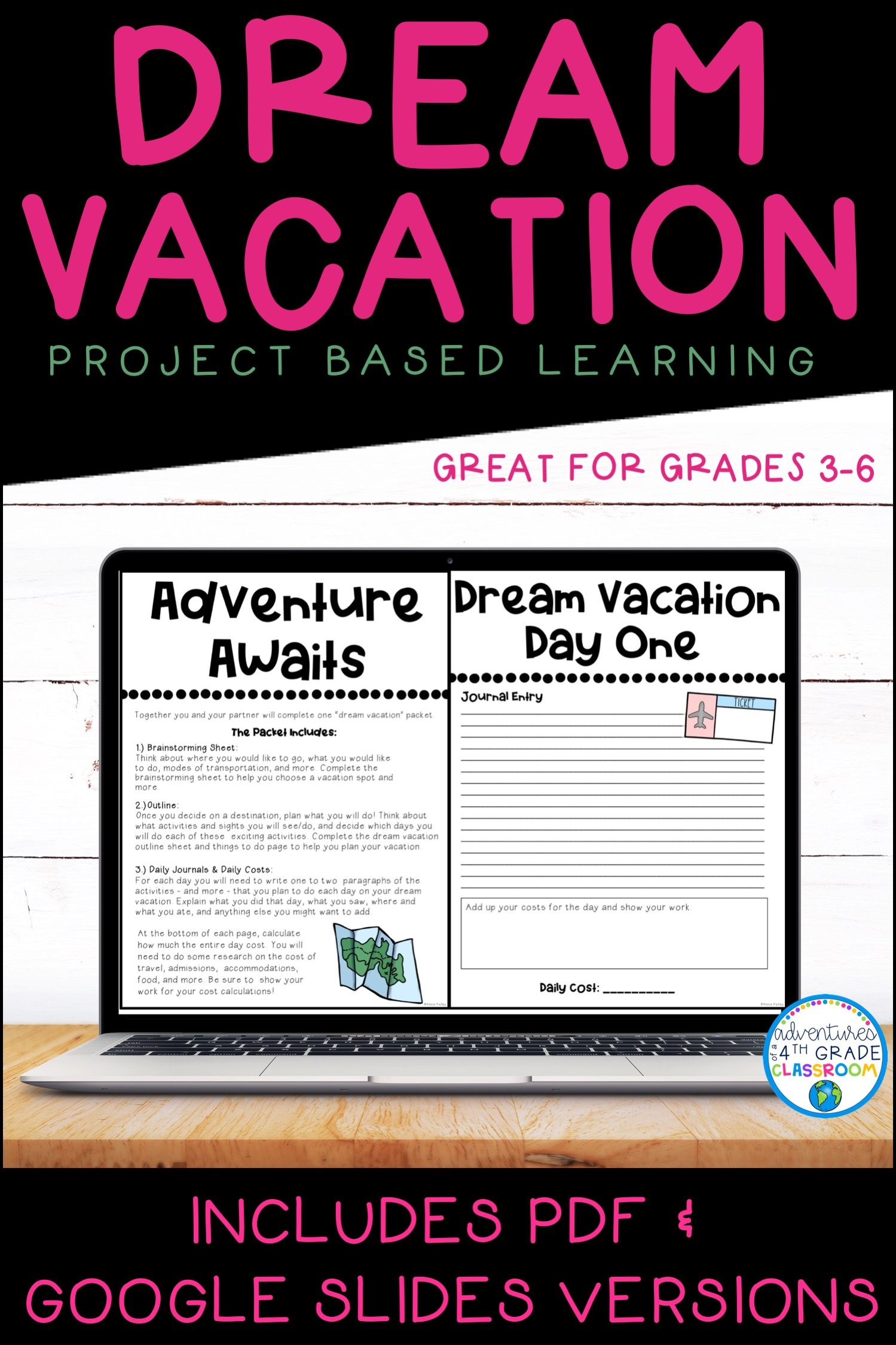 Dream Vacation Pbl In